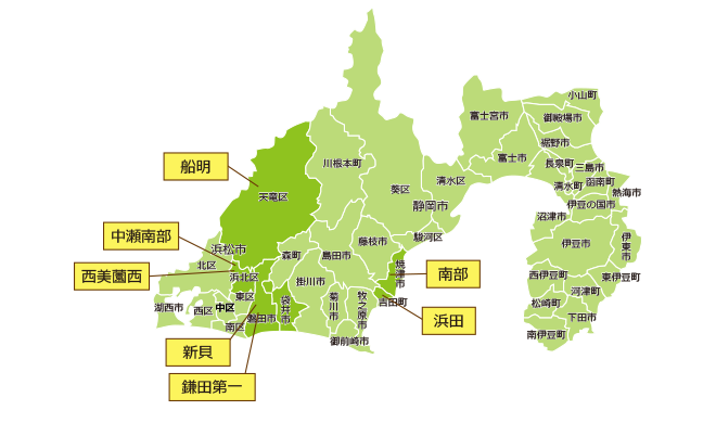 保留地情報マップ